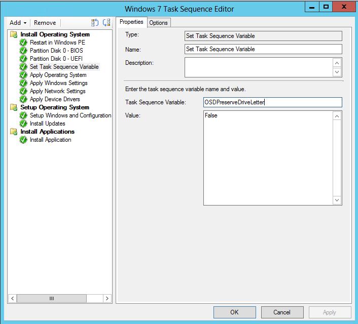 SCCM 2012 SP1 – Install Windows 7 to drive letter C: | blog