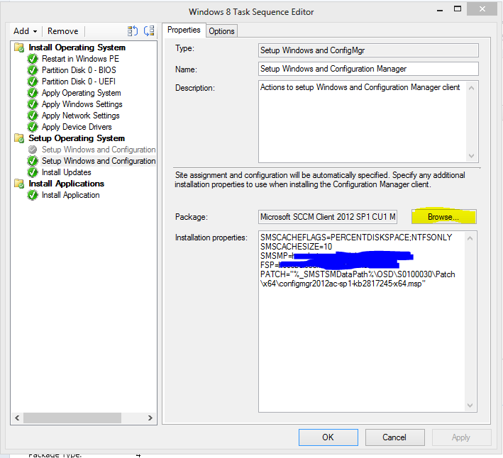SCCM 2012 SP1 – Include Client CU1 in OSD | blog hosebei ch