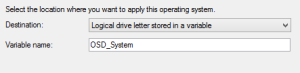 Apply Operating System