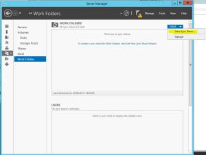 Add Work Folder