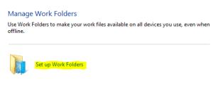 Work Folders 8.1 Client