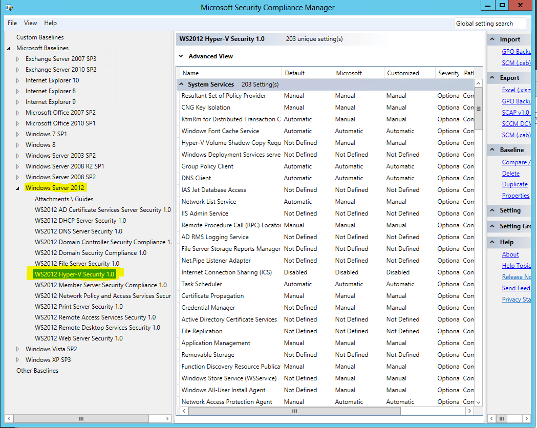 SCCM 2012 – Compliance Settings, really? | blog hosebei ch