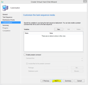 Create VHD wizard