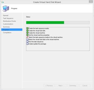 Create VHD process 02