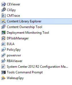 Content Library Explorer