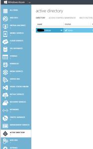 Open Active Directory Domain