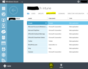 Add Application for SSO in Azure