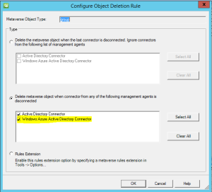 Windows Azure Active Directory Connector