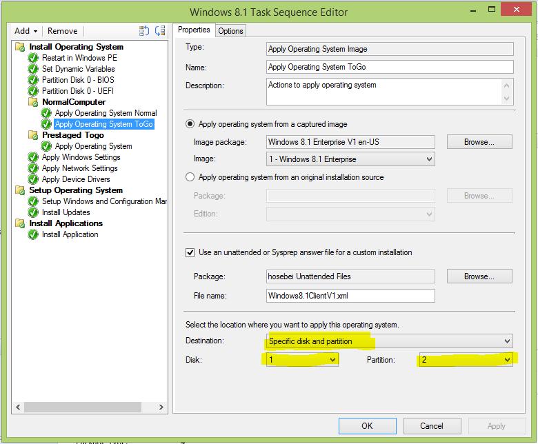 SCCM 2012 R2 – Windows 8 1 To Go deployment   blog hosebei ch