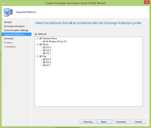 Intune Extension Platform support