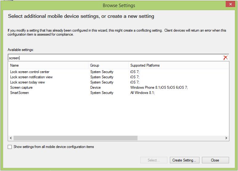 sccm 2012 r2 windows phone 8