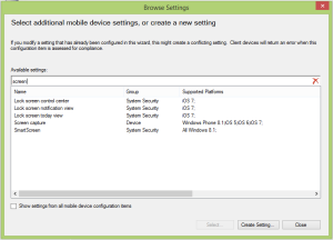Windows Phone 8.1 Compliance