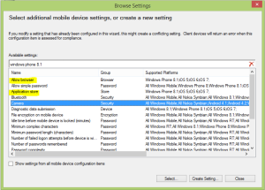 Windows Phone 8.1 Compliance Rules 01