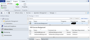 SCCM Package