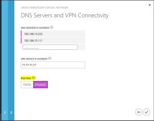 Azure RemoteApp DNS