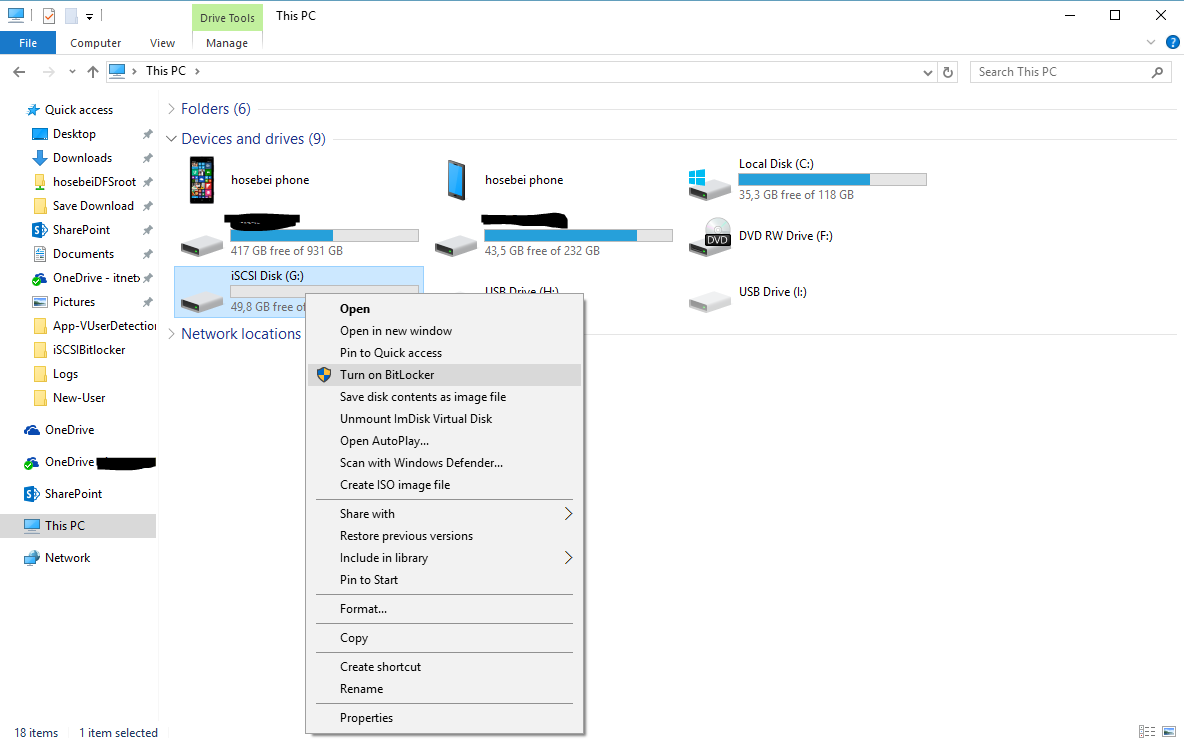 how to unlock a bitlocker encrypted drive