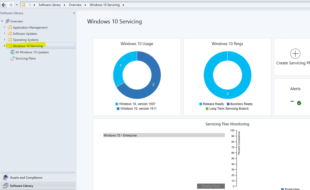 Configmgr create device collections based on windows 10 for Windows distribution