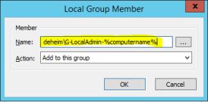 Add group to admin gpo gpp