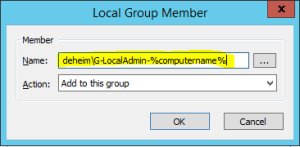 Add group to admin gpo gpp