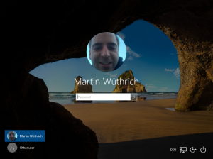 Windows 10 Logon Screen User Picture