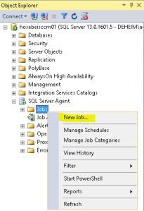 SQL Server Agent Job