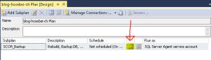 Schedule SQL Maintenance Plan